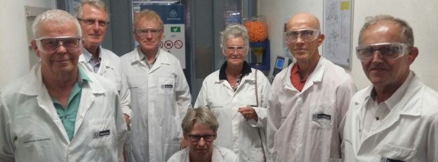 Vrijwilligers bezoeken trapliftfabrikant ThyssenKrupp